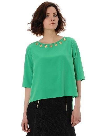 KAF'dan by Elaidi Bluz Yeşil